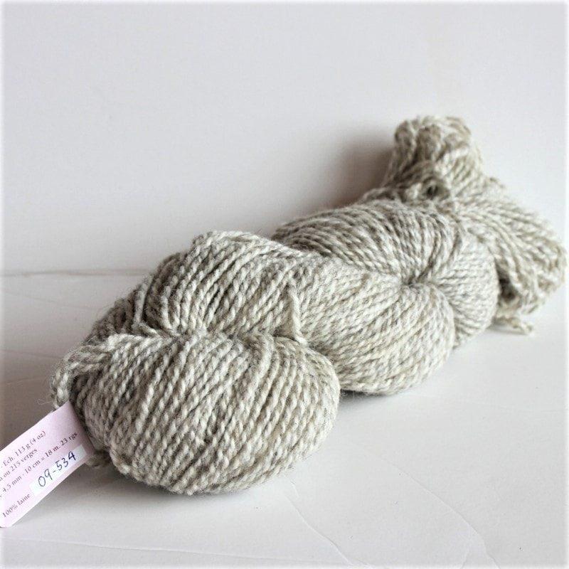 Laines douceur - 100% laine #09 - Tweedé naturel