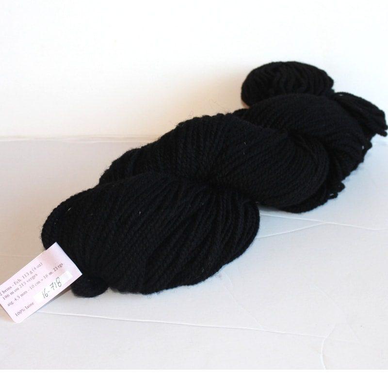 Laines douceur - 100% laine #16 - Noir