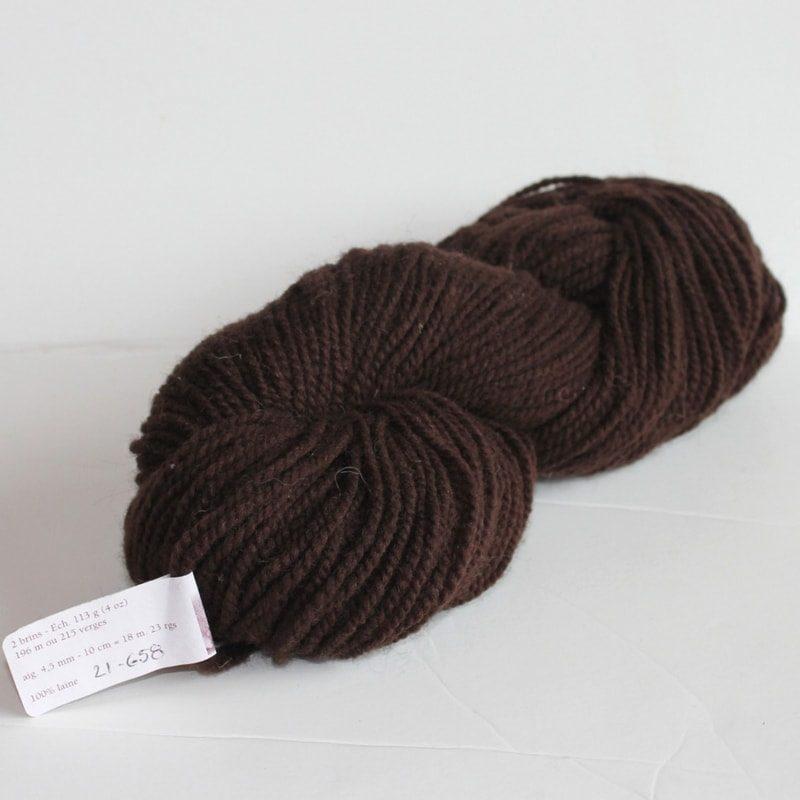 Laines douceur - 100% laine #21 - Brun