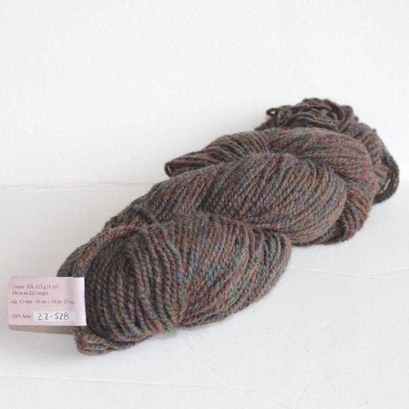 Laines douceur - 100% laine #22 - Brun lande