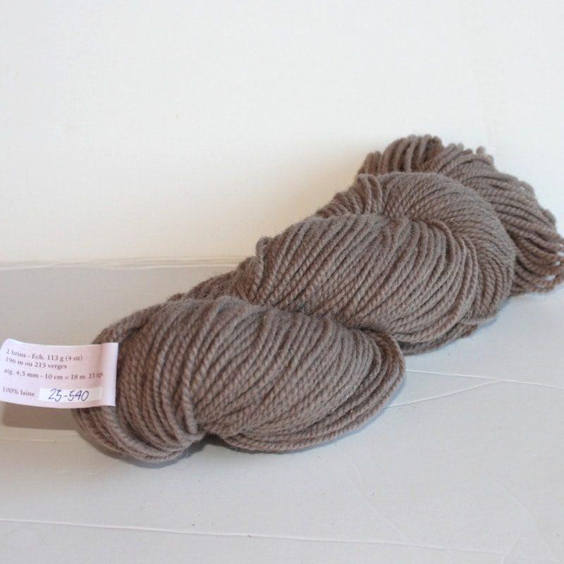Laines douceur - 100% laine #25 - Fauve