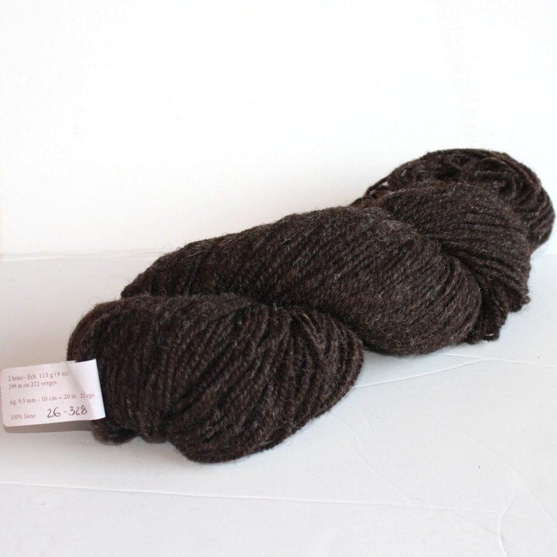 Laines douceur - 100% laine #26 - Mouton brun