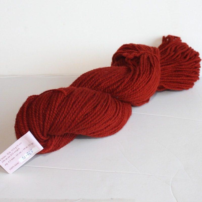 Laines douceur - 100% laine #31 - Orange brûlé