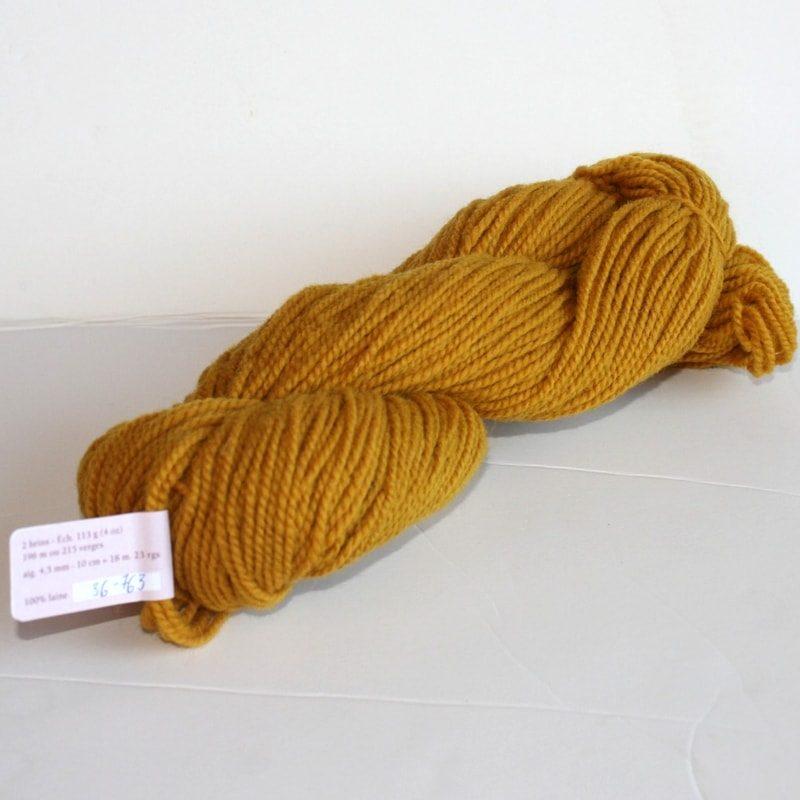Laines douceur - 100% laine #36 - Jaune or