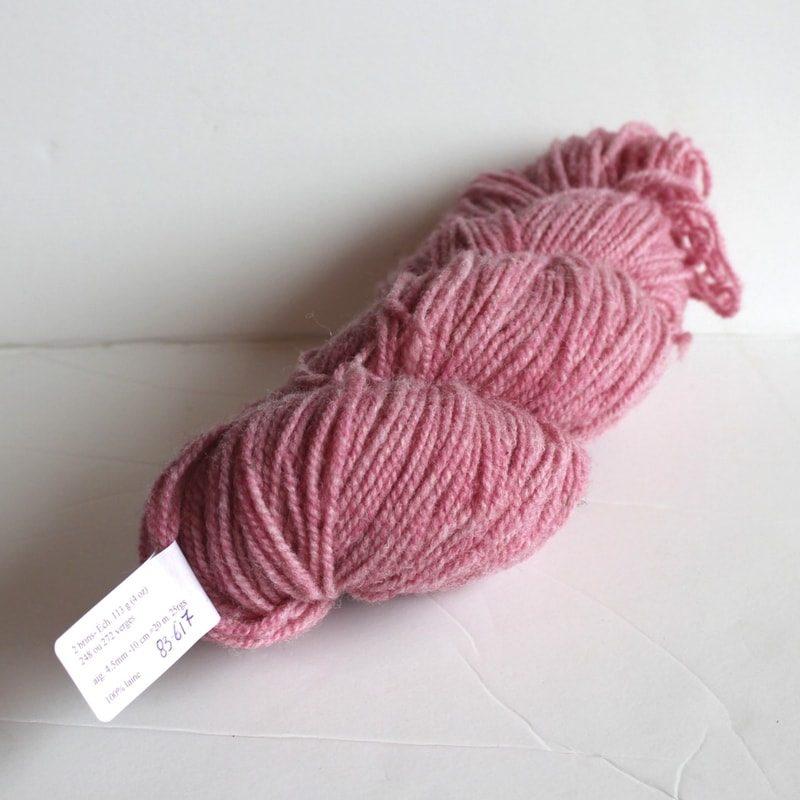 Laines douceur - 100% laine #83 - Rose