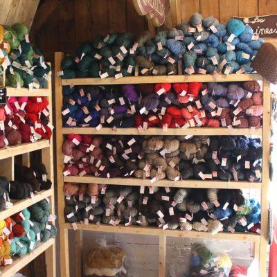 Laines douceur - 100% laine - Présentoir
